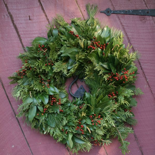 Winter 2014-15: New Hampshire-made wreaths for the holiday season